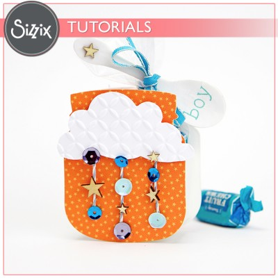 Sizzix Video Tutorial: Baby Shower Favors!
