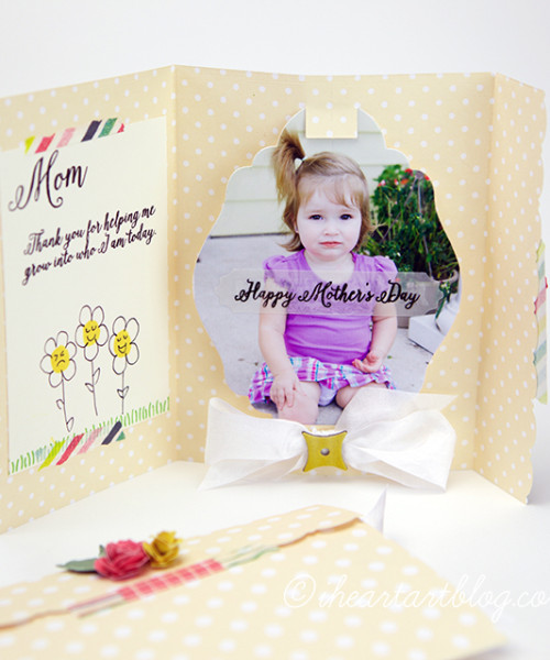 Personalized Photo Card Tutorial!